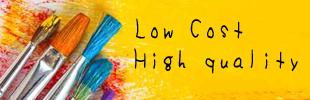低コストと高クオリティのワケのイメージ
